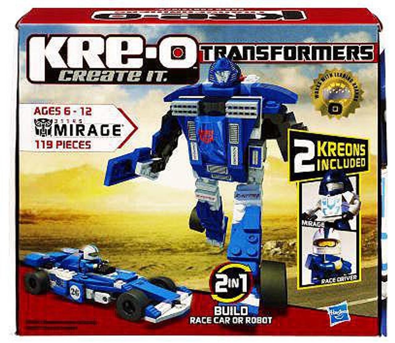 transformers kre o kre o mirage set 31145 hasbro toys toywiz