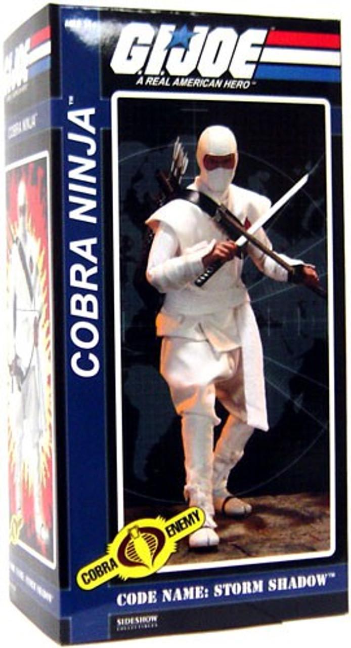 G I  Joe Cobra Enemy Storm Shadow Collectible Figure [Cobra Ninja]
