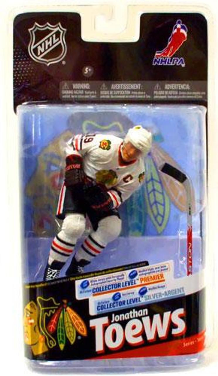 check out 53ef5 3ac23 McFarlane Toys NHL Chicago Blackhawks Sports Picks Series 24 Jonathan Toews  Action Figure [White Jersey]