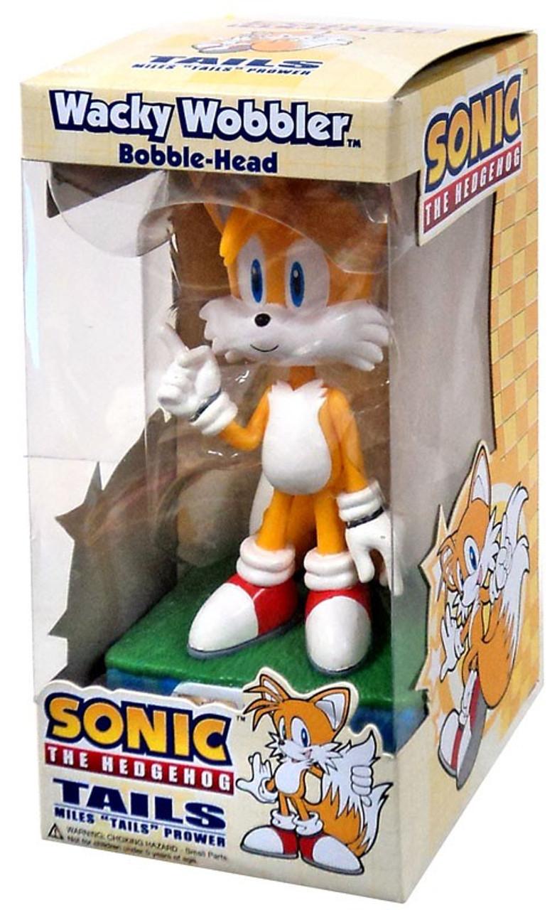 Toywiz Bobble Funko Sonic The Tails Wacky Wobbler Hedgehog Head 4R35jAL
