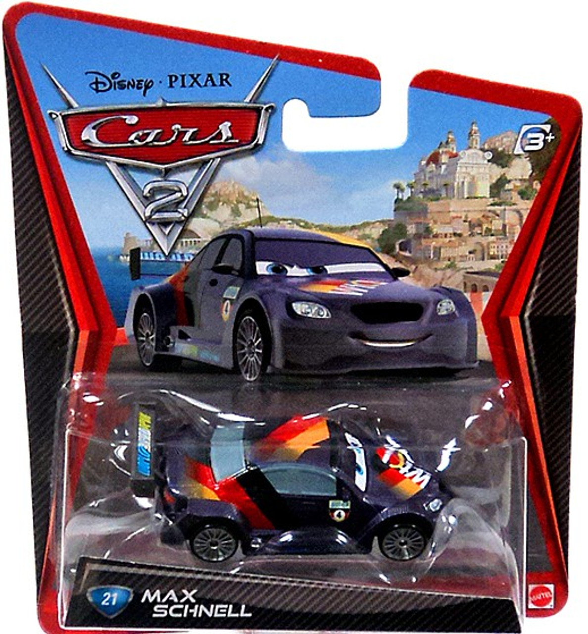 Disney Pixar Cars Cars 2 Main Series Max Schnell 155