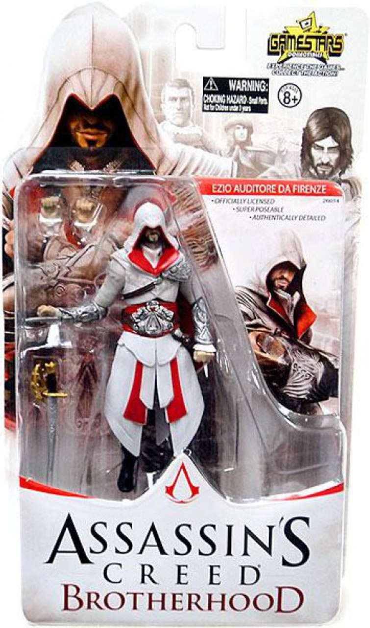 Assassins Creed Brotherhood Gamestars Ezio Auditore Da Firenze 4 Action Figure Unimax Toywiz