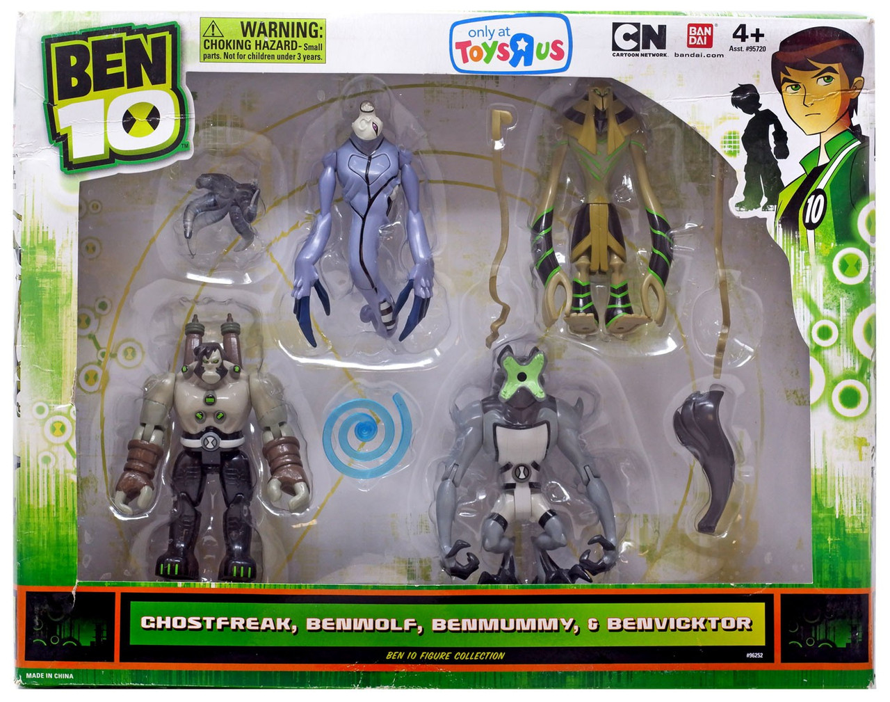 Four-Arms 1 Supplied Ben 10 Ten Loose Action Figure