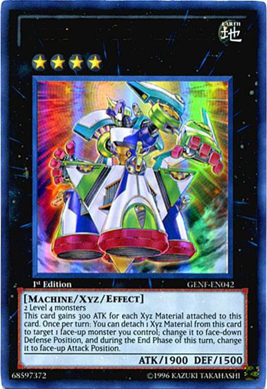 """/""""Zenmaines Automate//Wind-Up/"""" CT09-EN008 ANGLAISE//SUPER RARE Yu-Gi-Oh"""