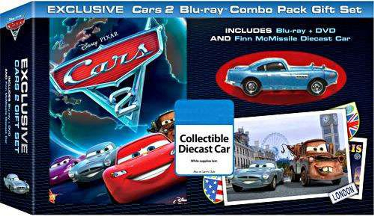 Disney Pixar Cars Cars 2 Cars 2 Blu Ray Combo Pack Gift Set
