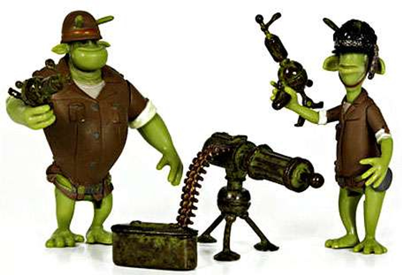 JAZWARES PLANET 51 Soldier Pack B New
