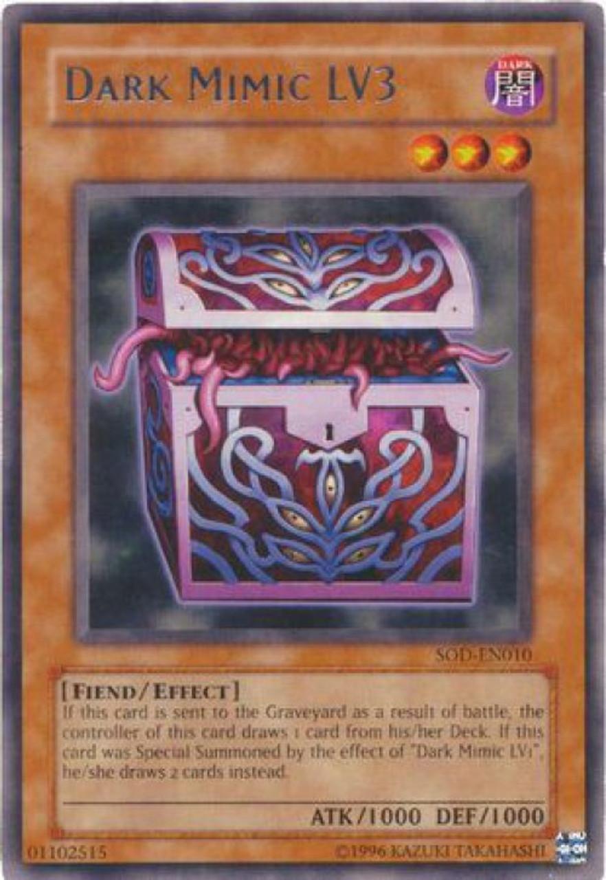 Ultimate Rare Charcoal Inpachi SOD-EN001 PL Soul of the Duelist Yugioh
