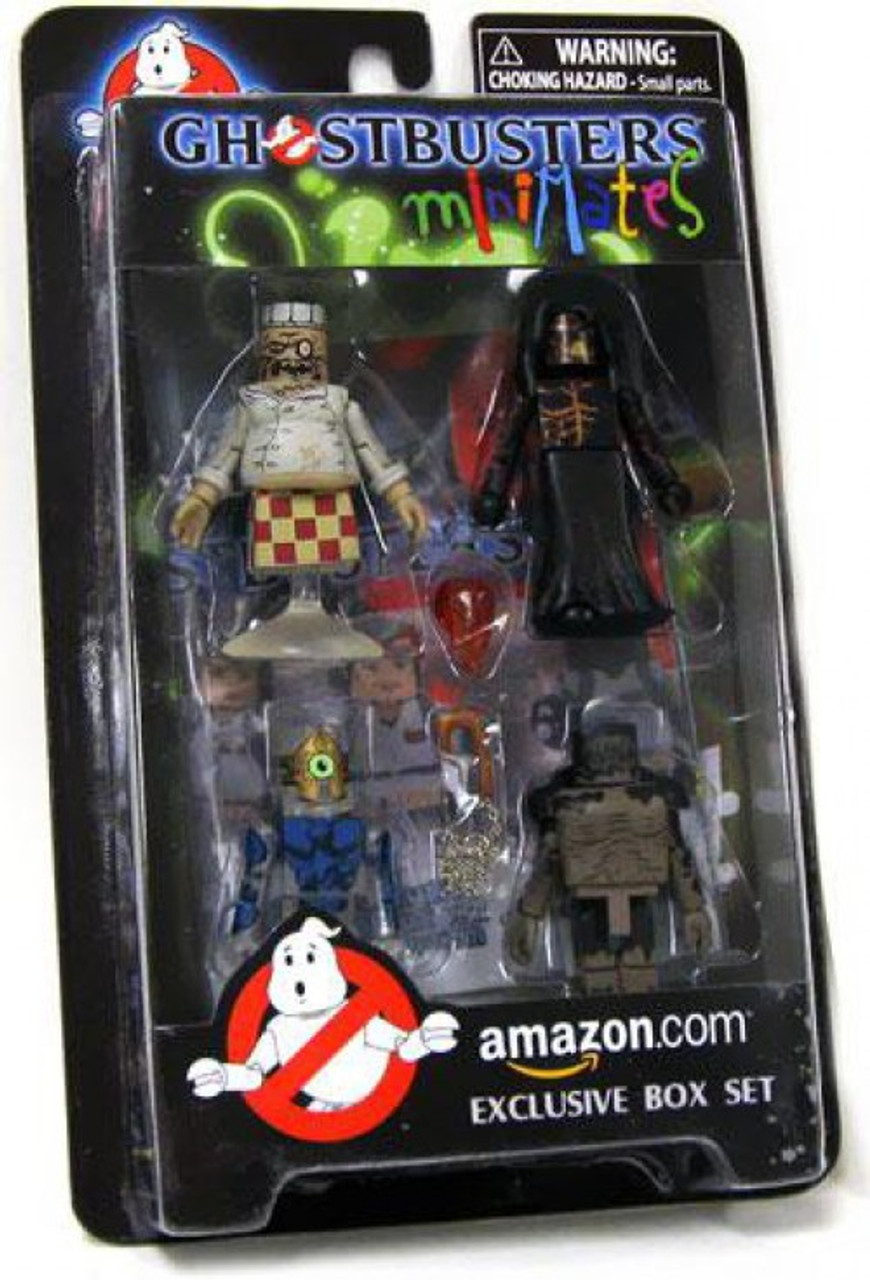 Ghostbusters Minimates Amazon Video Game Architect