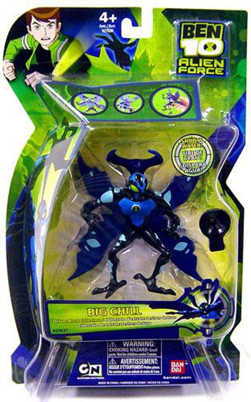 Ben 10 Alien Force Deluxe Alien Collection Big Chill Action Figure Bandai America Toywiz