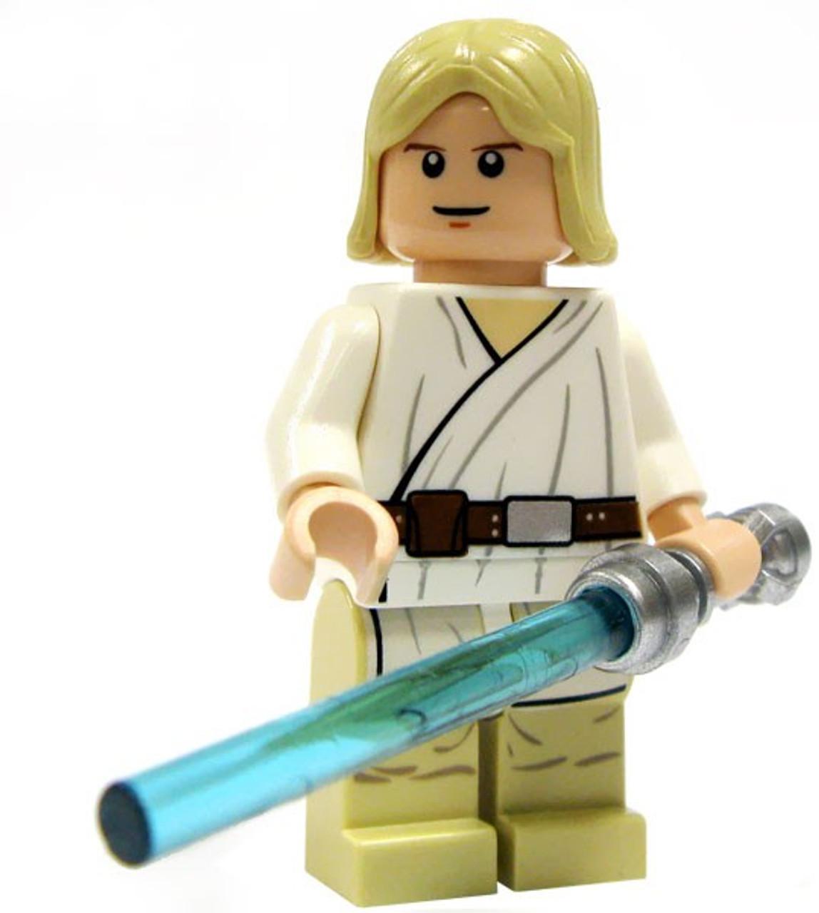 Lego Star Wars A New Hope Luke Skywalker Minifigure Tatooine Loose