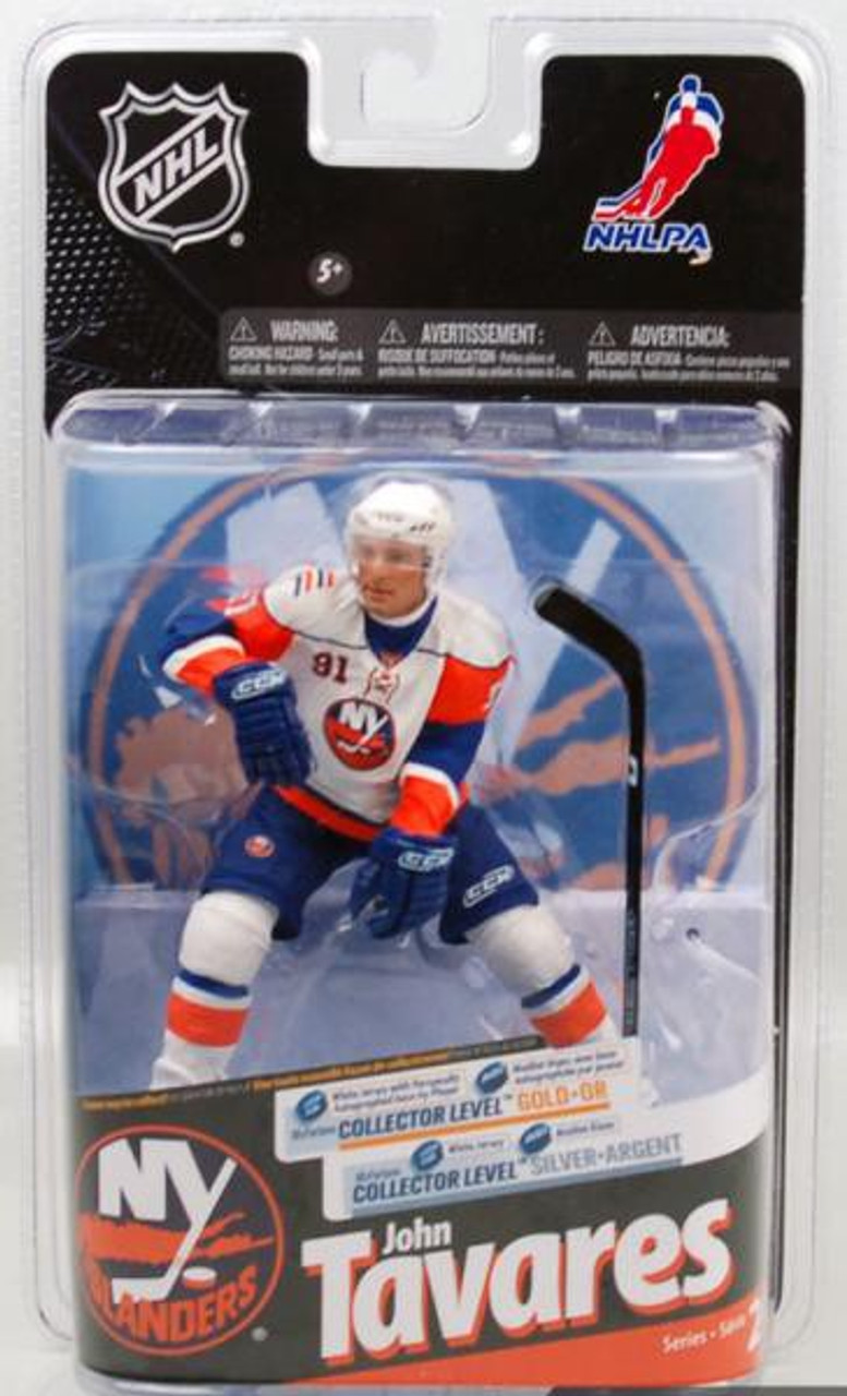McFarlane Toys NHL New York Islanders Sports Picks Series 24 John Tavares Action  Figure White Jersey - ToyWiz b2f014c38