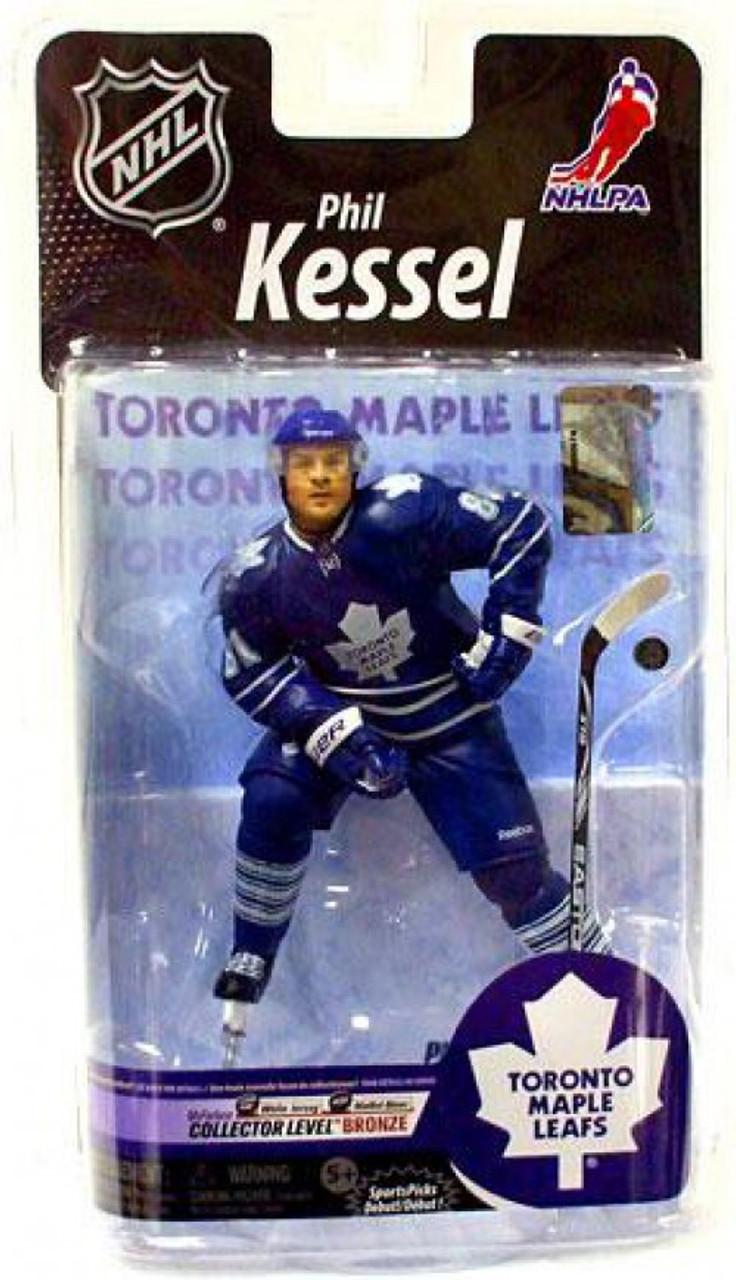 new arrival 4e0a5 3e66d McFarlane Toys NHL Toronto Maple Leafs Sports Picks Series 25 Phil Kessel  Action Figure [Blue Jersey]
