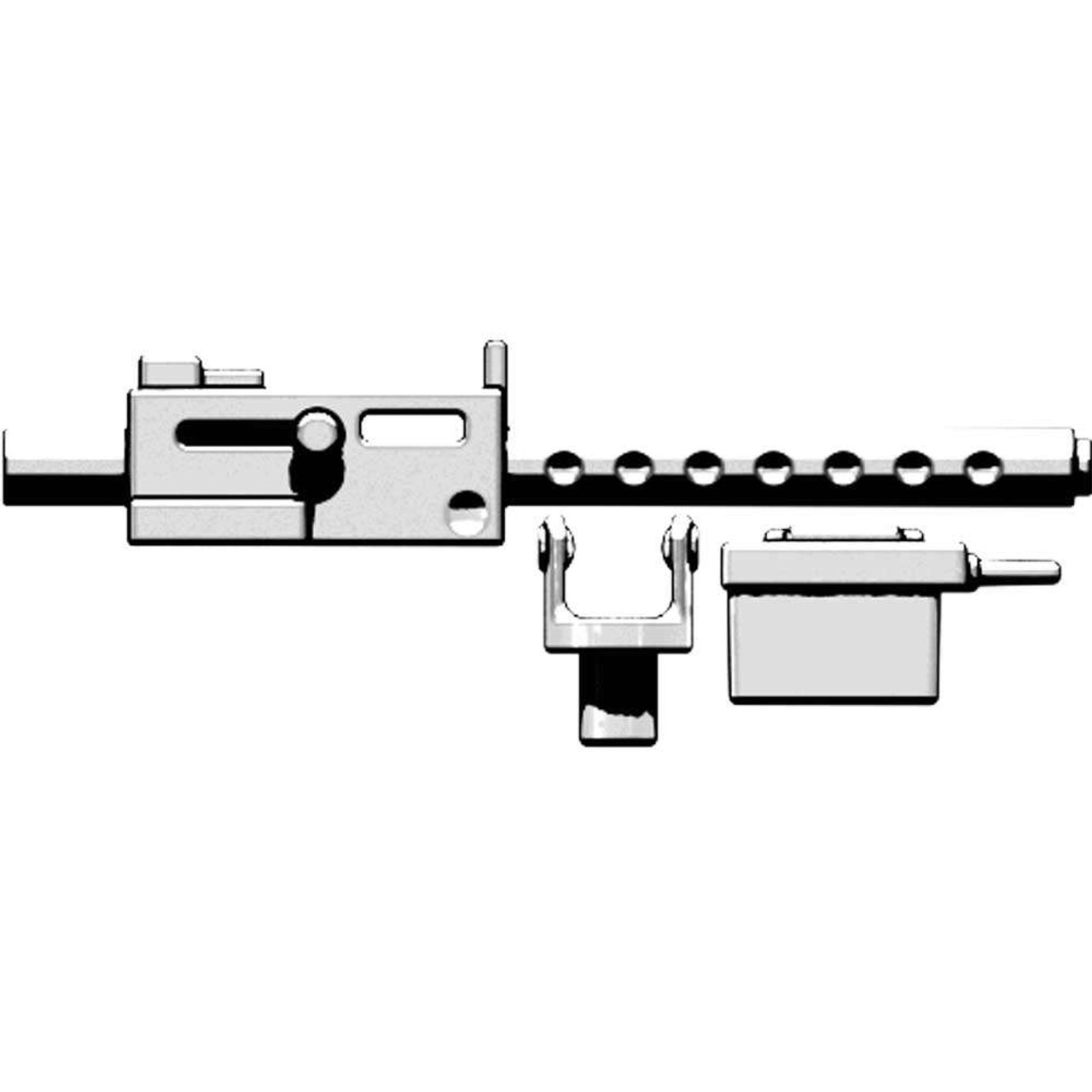 BrickArms M1919 Machine Gun 2 5-Inch [White]