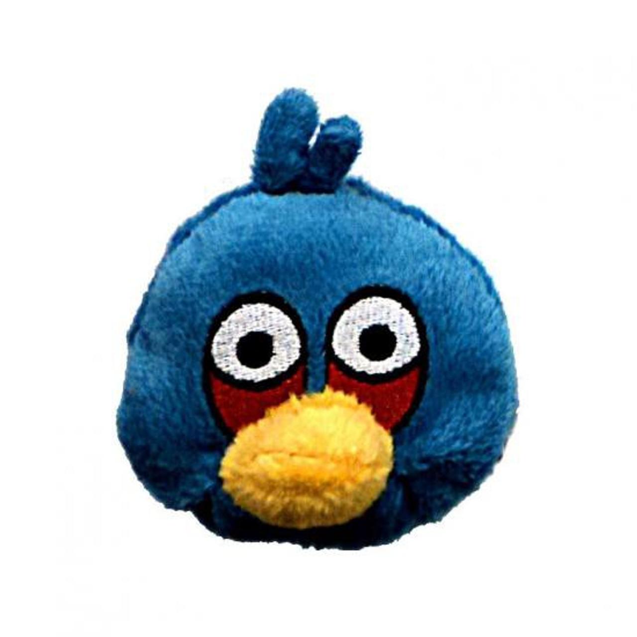 Angry Birds Blue Bird 3 Bean Bag Plush Commonwealth Toys Toywiz