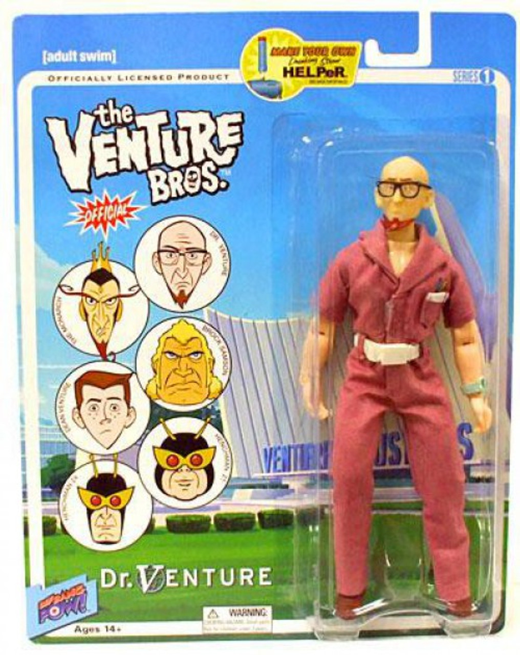 Venture Bros Dr Venture Action Figure NEW Bif Bang Pow!