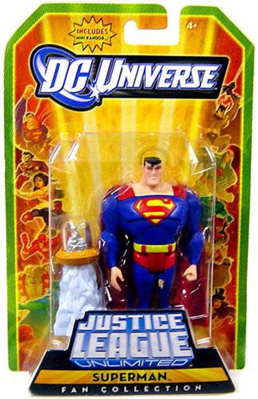 Justice League Unlimited Fan Collection Superman Action Figure Mini Kandor