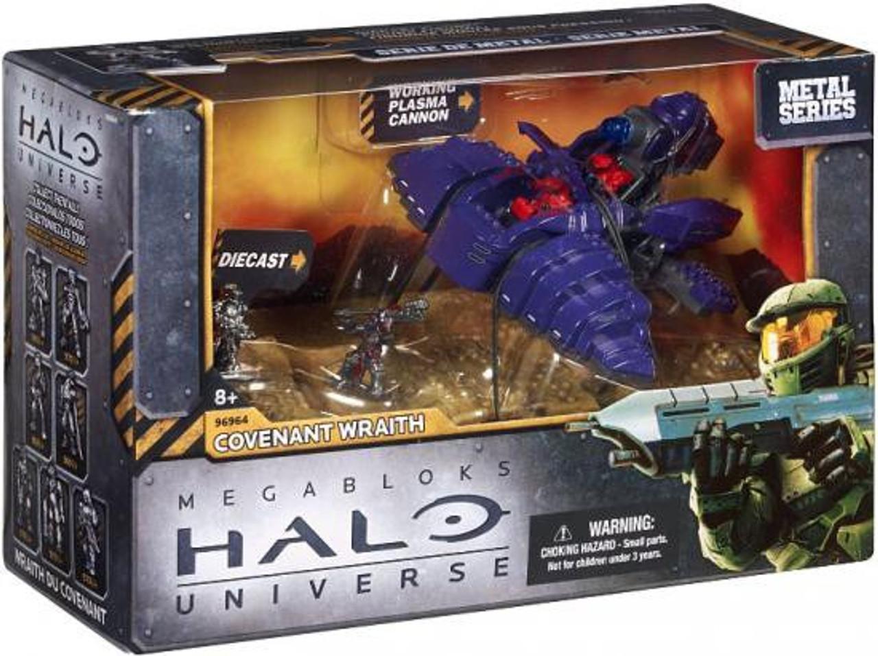 Halo Mega Bloks - Covenant Wraith Ambush Review - YouTube  |Covenant Wraith Purple