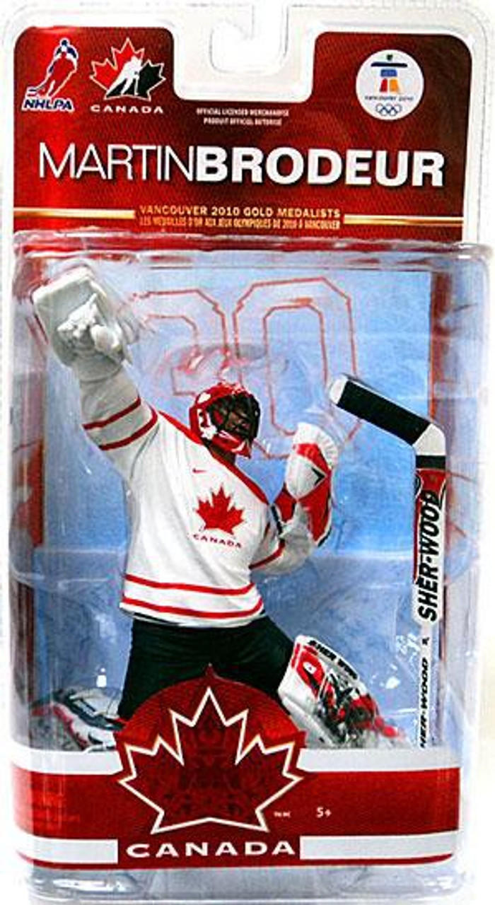 McFarlane Toys NHL New Jersey Devils Sports Picks Team Canada Series 2 Martin  Brodeur Action Figure b01bbffcf