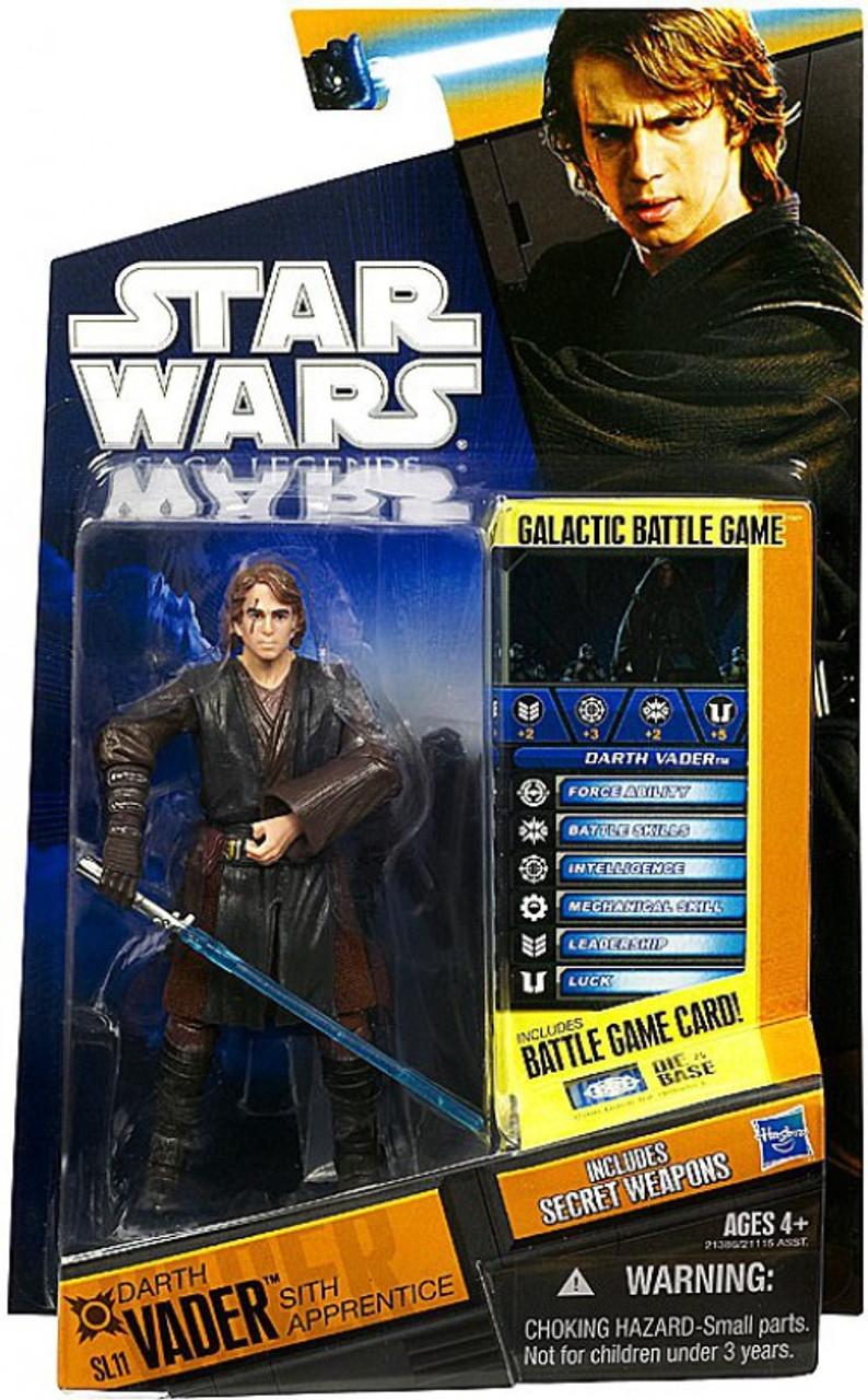 Star Wars Revenge Of The Sith Saga Legends 2010 Anakin Skywalker As Darth Vader 3 75 Action Figure Sl11 Hasbro Toys Toywiz
