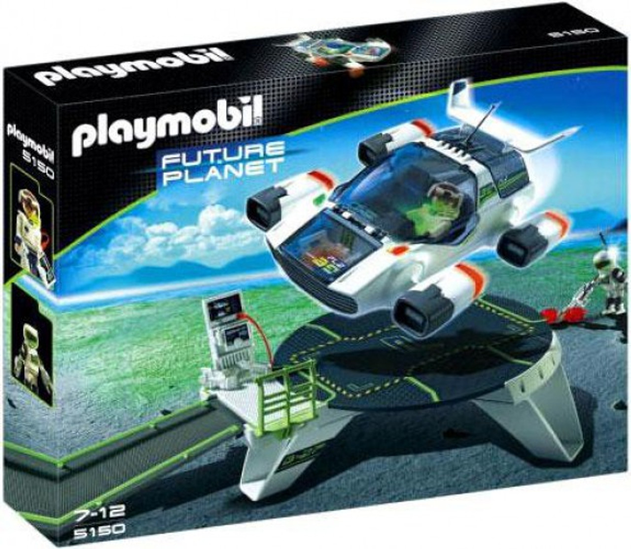 Brand New Playmobil Future Planet 5154 Darksters Truck with Flash Cannon