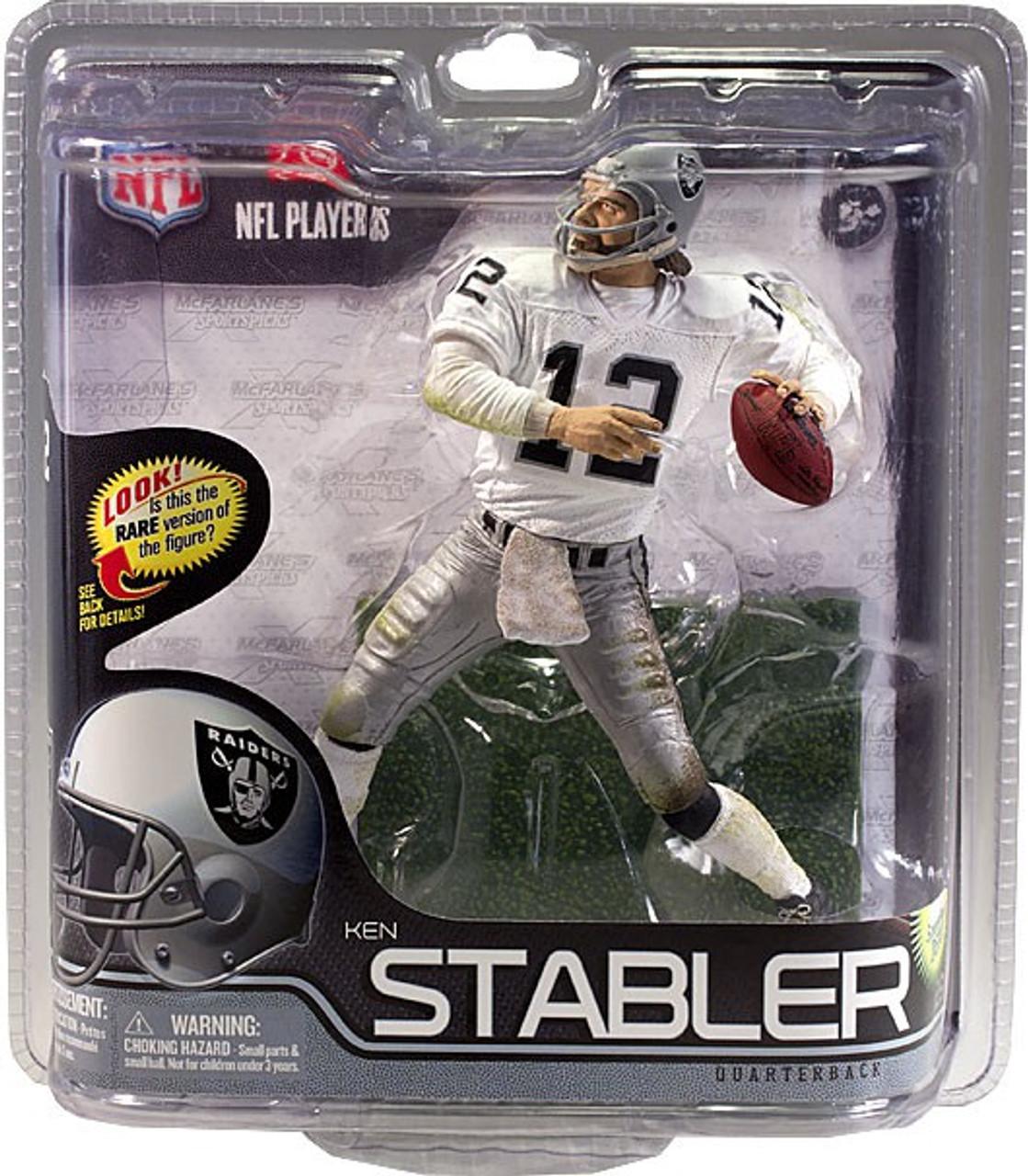 Ken Stabler McFarlane Series 29 new in package Oakland Raiders