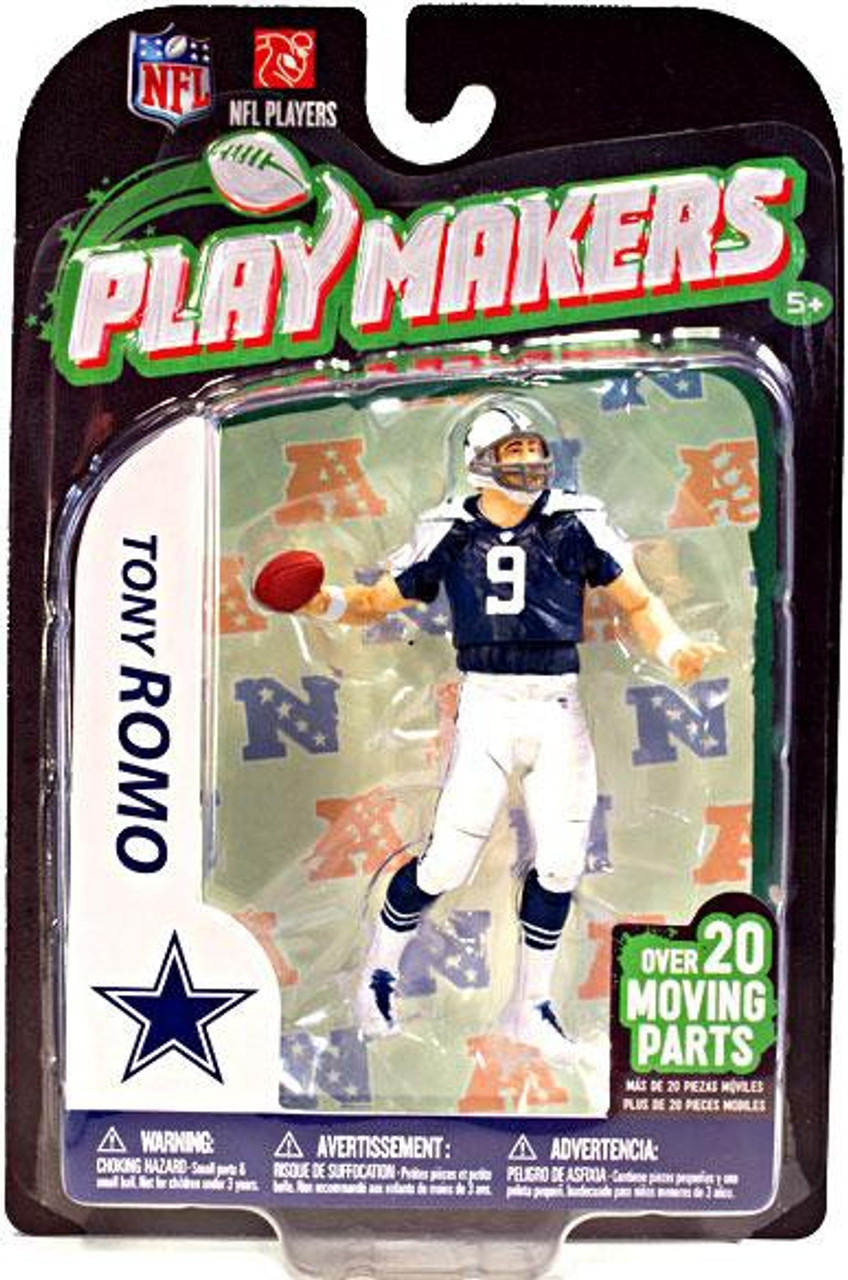 more photos c794d 8b2be McFarlane Toys NFL Dallas Cowboys Playmakers Series 3 Tony Romo Action  Figure [Throwback]
