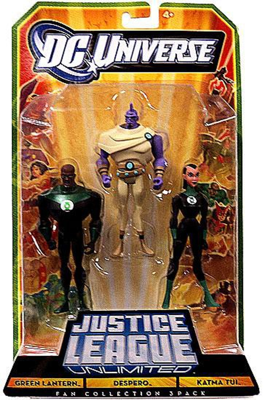 DC Universe Justice League Unlimited Green Lantern Despero Katma Tui