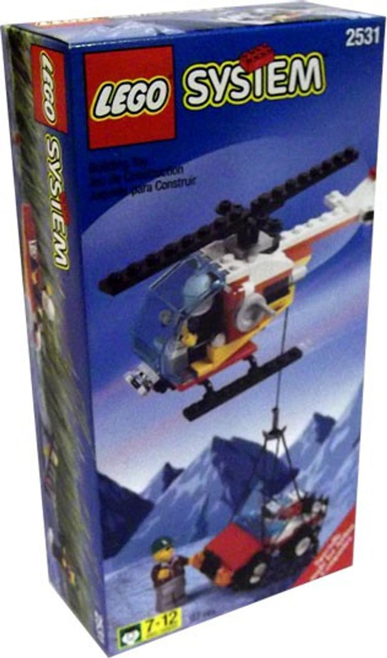 Lego System Rescue Helicopter Set 2531 Toywiz