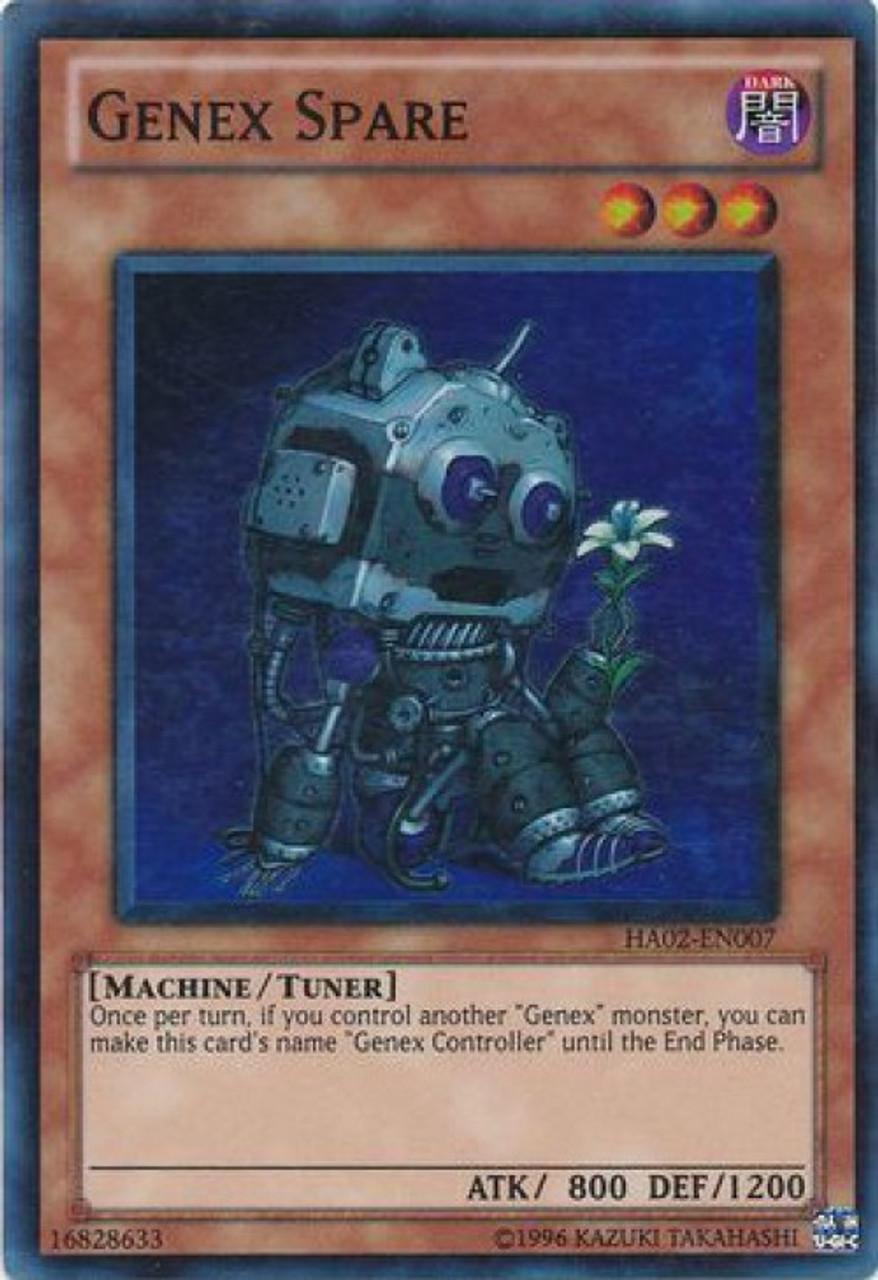 - Yu-Gi-Oh 1x Genex Spare HA02