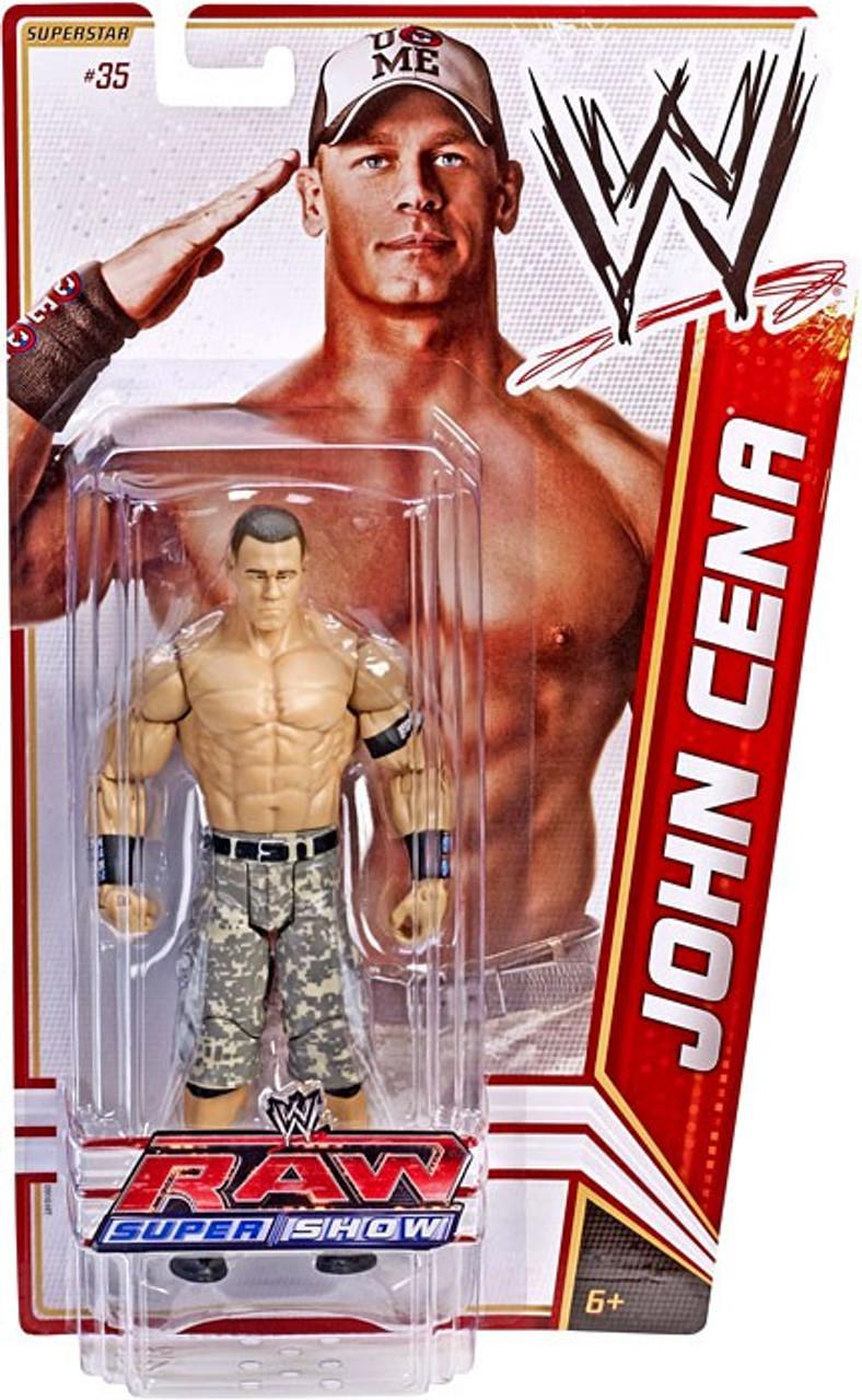 WWE Wrestling Mattel Basic combat 35 Heritage Series John Cena Figurine