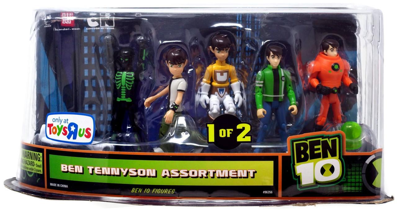 Ben 10 Ben Tennyson Exclusive Action Figure 5-Pack #1