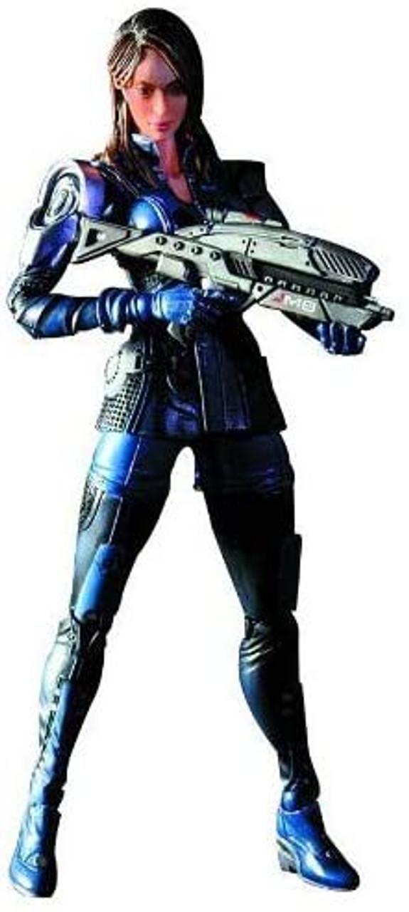 "Ashley Williams 8/"" Play Arts Kai Action Figure Square Enix MASS EFFECT 3"