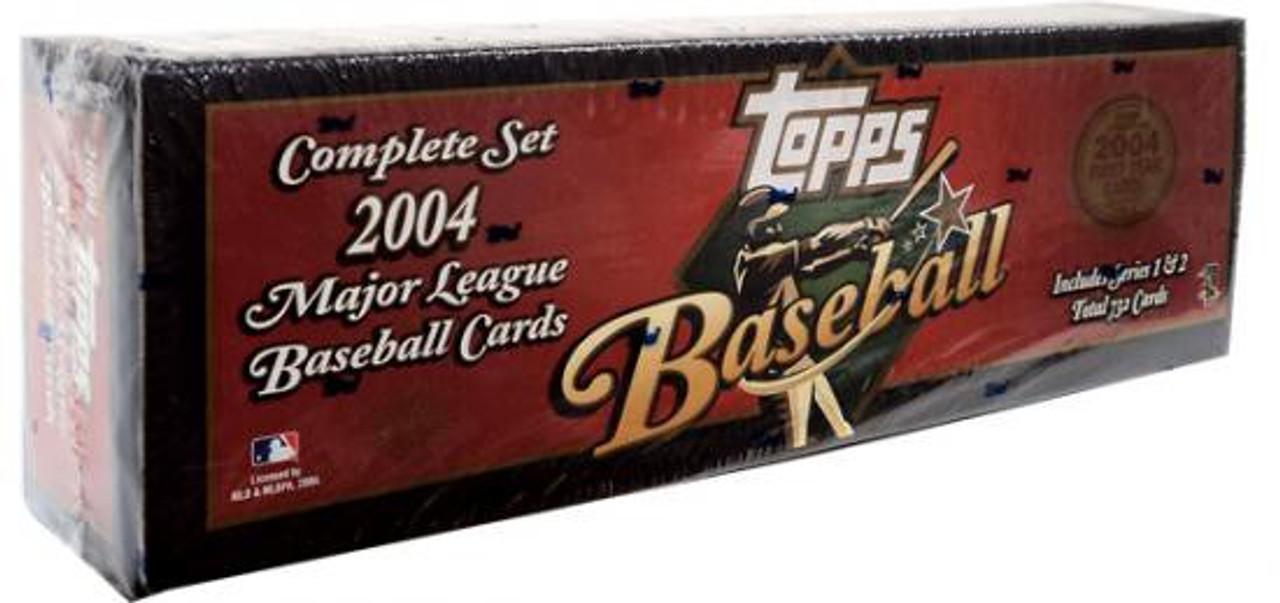 Mlb 2004 Topps Baseball Cards Complete Set Toywiz
