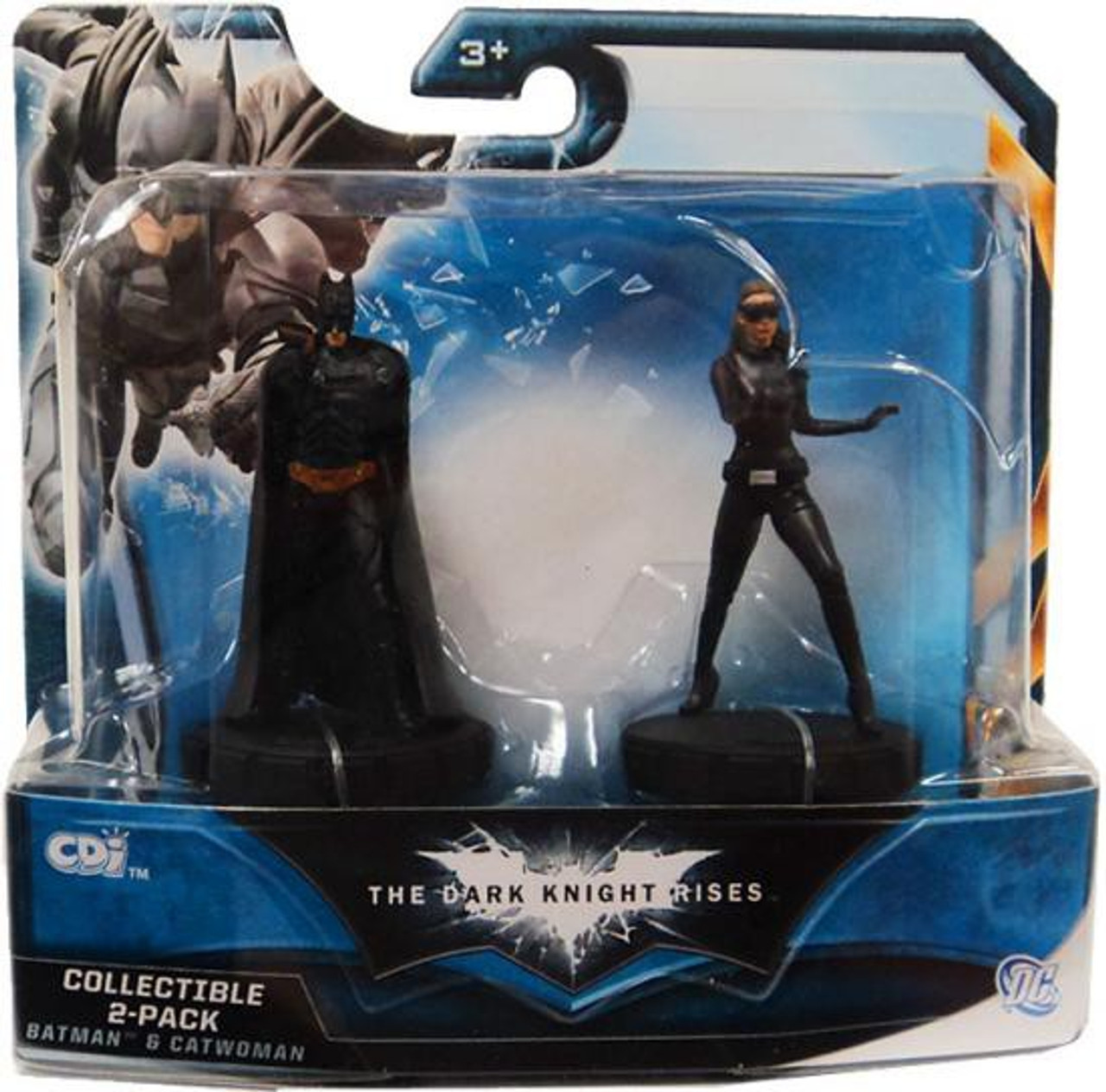 Batman The Dark Knight Rises Collectible 2 Pack BATMAN /& THE TUMBLER Figures