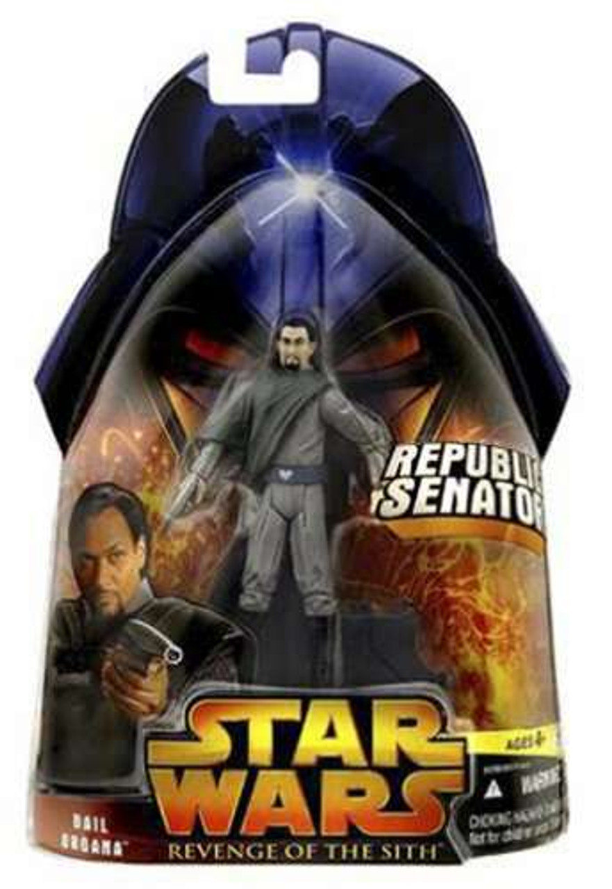 """Bail Organa #15 Episode III Revenge of the Sith 3.75/"""" Action Figure Star Wars"""