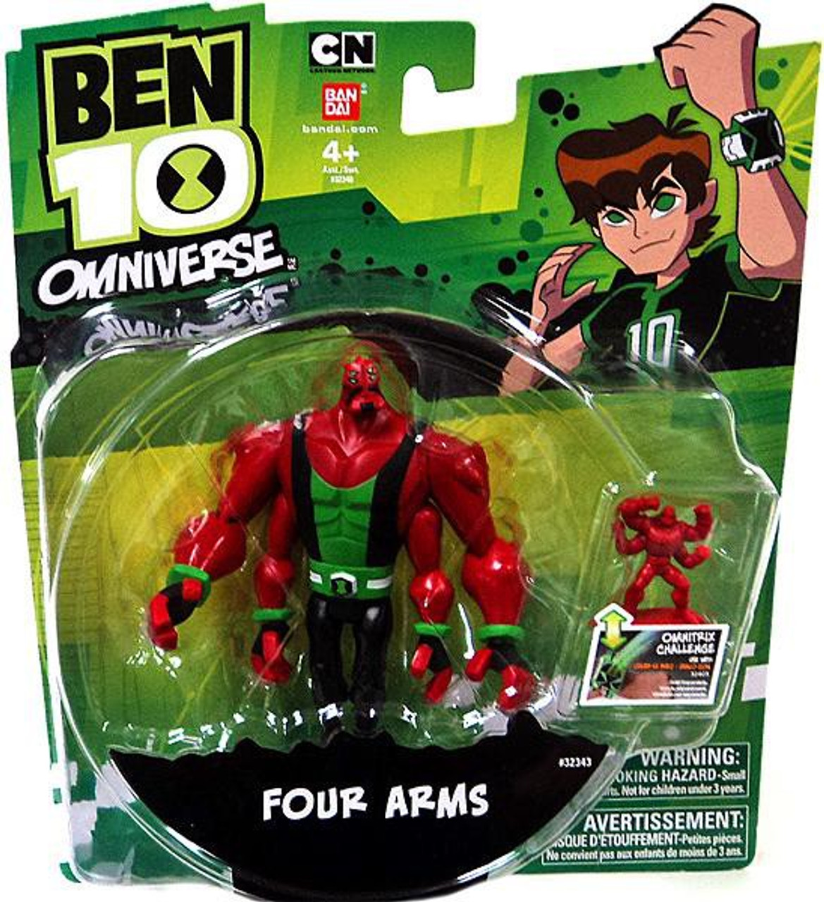 Ben 10 Omniverse Alien Action Figure Bandai