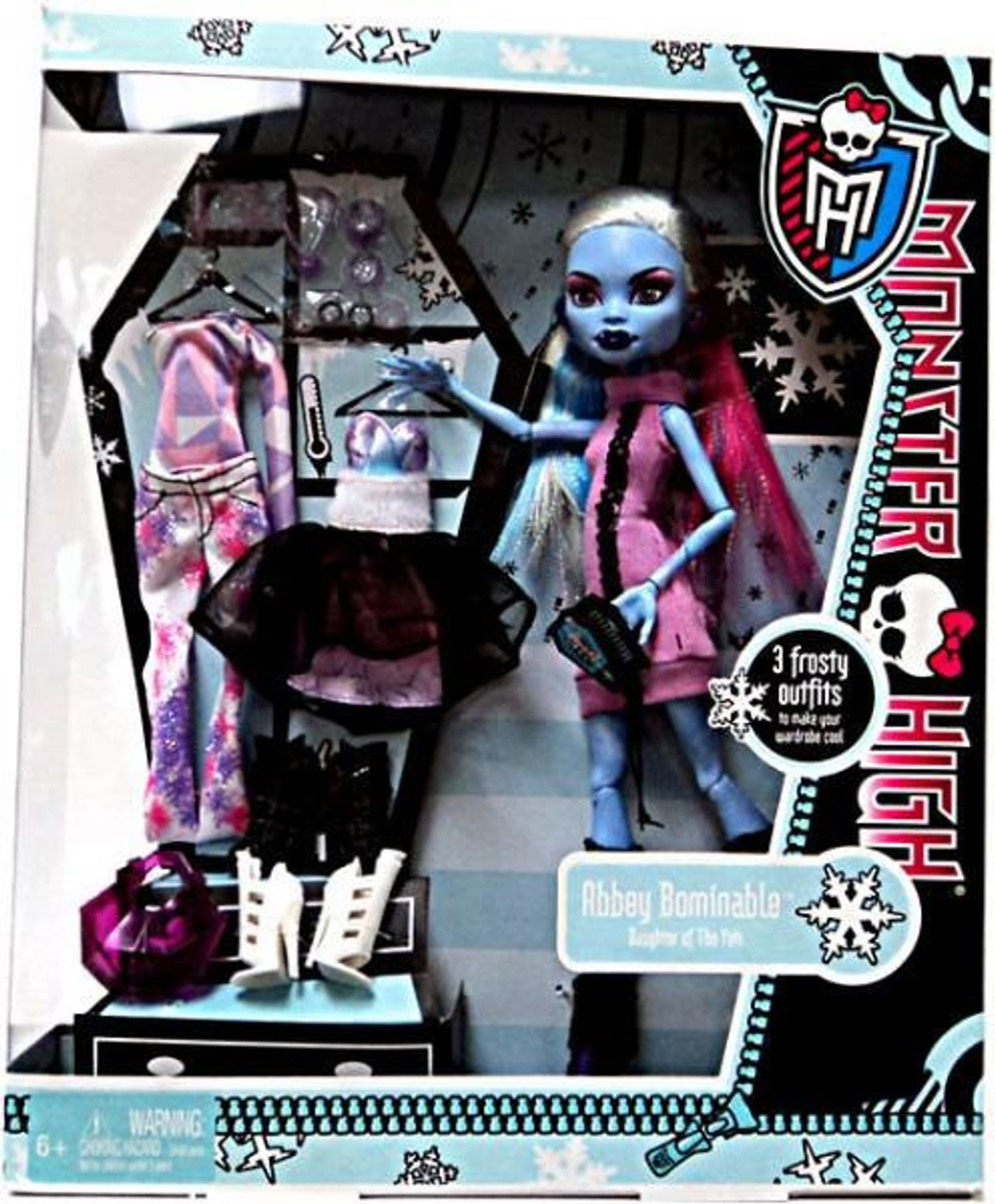 Monster High I Love Fashion Abbey Bominable Exclusive 10 5 Doll Mattel Toys Toywiz