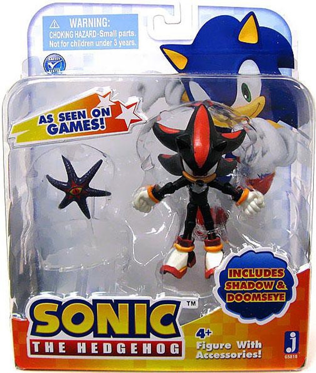 Sonic The Hedgehog Shadow Doomseye 3 5 Action Figure 2 Pack Jazwares Toywiz