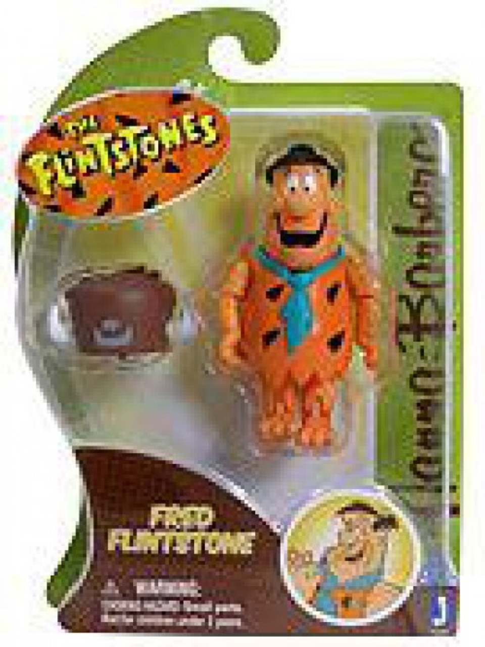 Captain Caveman Talking 12 Inch Plush Doll Toy By Jazwares Hanna-Barbera NEW