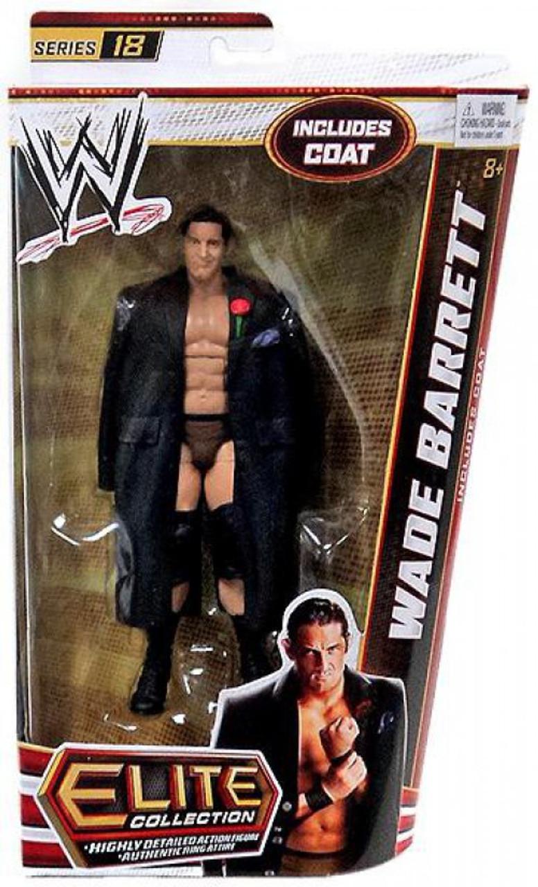 RARE WWE WADE BAD NEWS BARRETT MATTEL WRESTLING FIGURE BASIC SERIES 31
