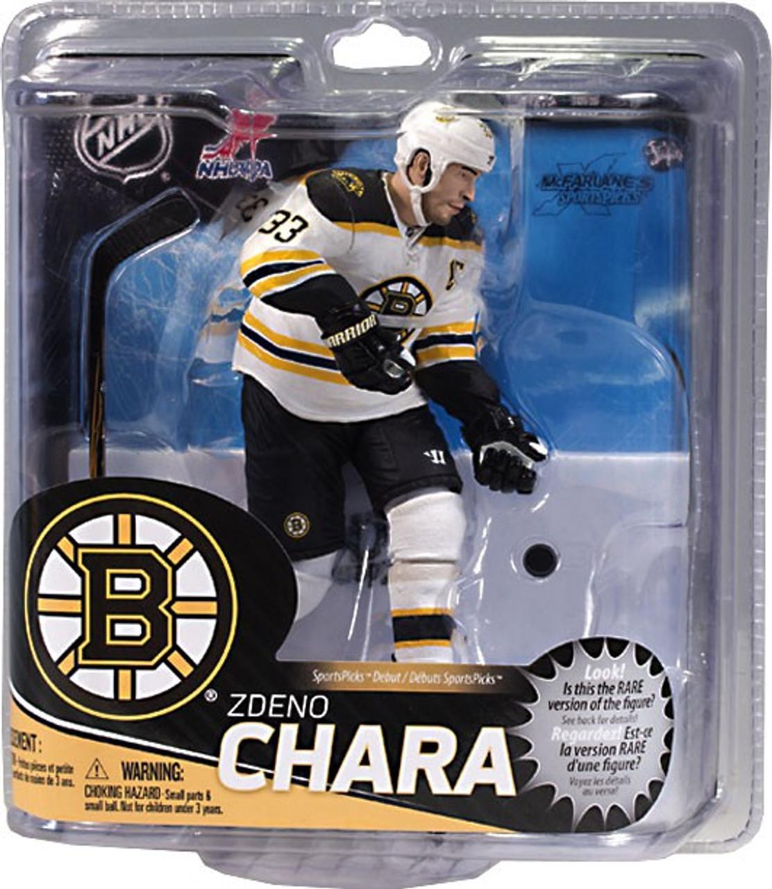 buy popular 548e8 751c9 McFarlane Toys NHL Boston Bruins Sports Picks Series 31 Zdeno Chara Action  Figure [White Jersey]