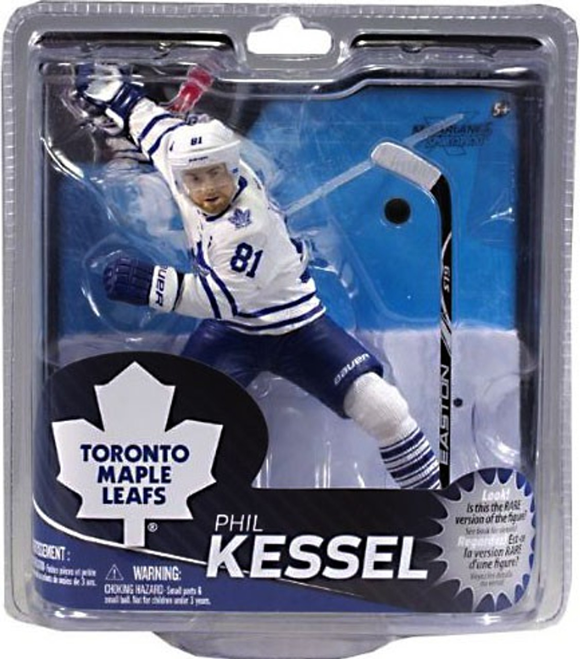 info for 7a485 42e7d McFarlane Toys NHL Toronto Maple Leafs Sports Picks Series 31 Phil Kessel  Action Figure [White Jersey]