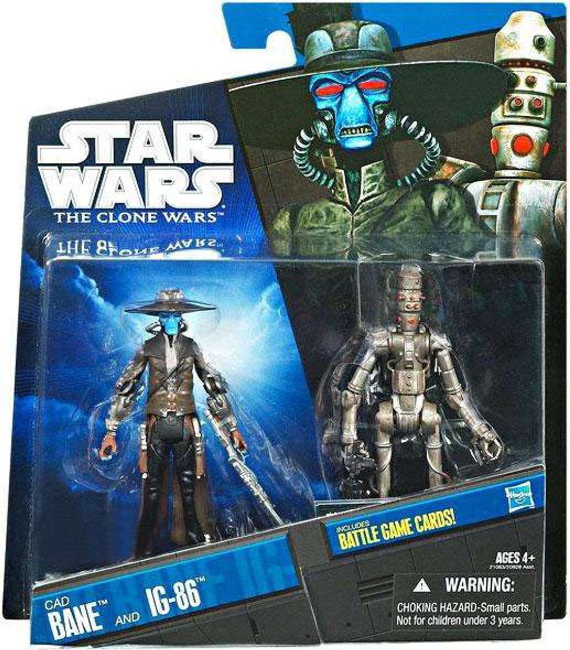 Star Wars The Clone Wars CW13 Cad Bane Action Figure New