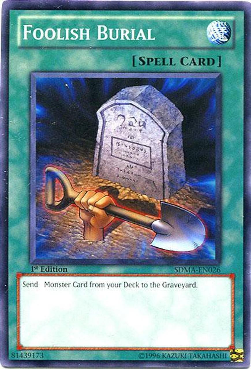 Yugioh Structure Deck Marik Single Card Common Foolish Burial Sdma En026 Toywiz