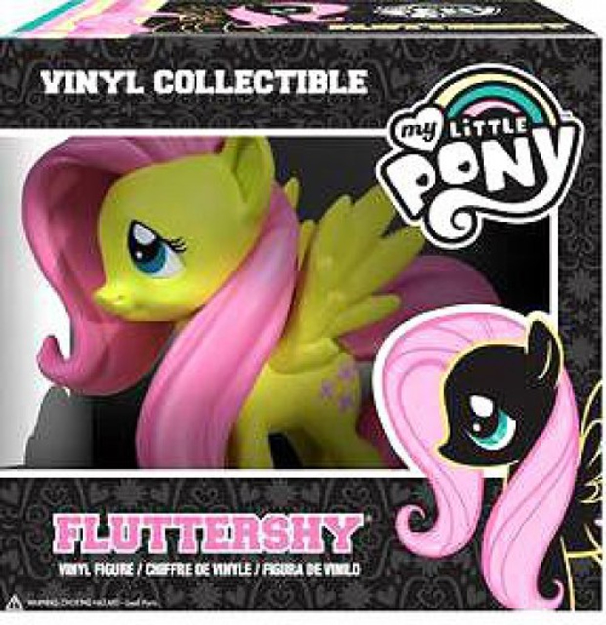 8e3050f7d4a Funko My Little Pony Vinyl Collectibles Fluttershy Vinyl Figure - ToyWiz
