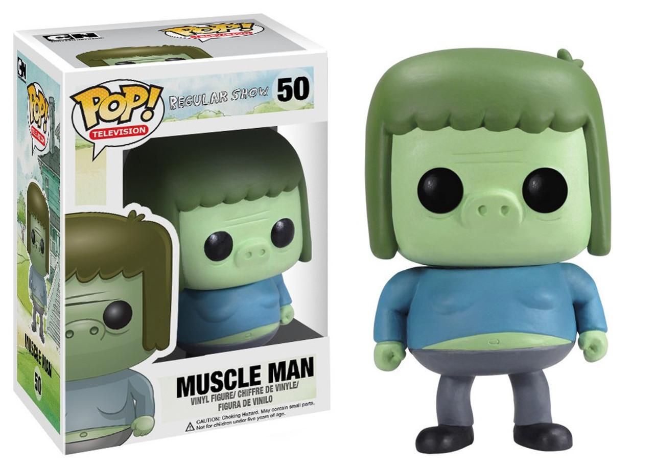 Funko Cartoon Network Regular Show Pop Tv Muscle Man Vinyl Figure 50 Toywiz