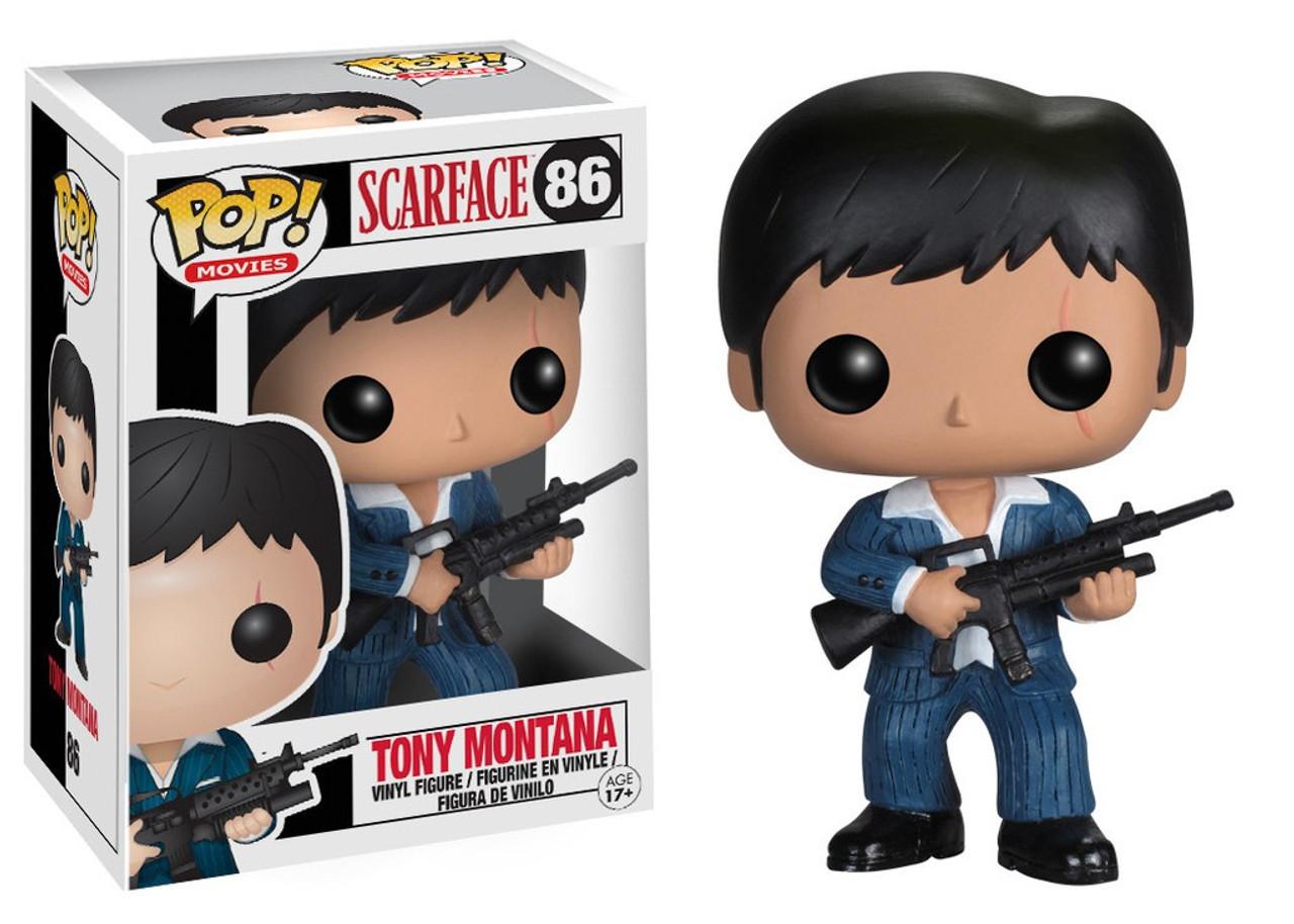 Funko Pop!#86 Scarface Tony Montana Vinyl Action Figure Collection toy gift DE