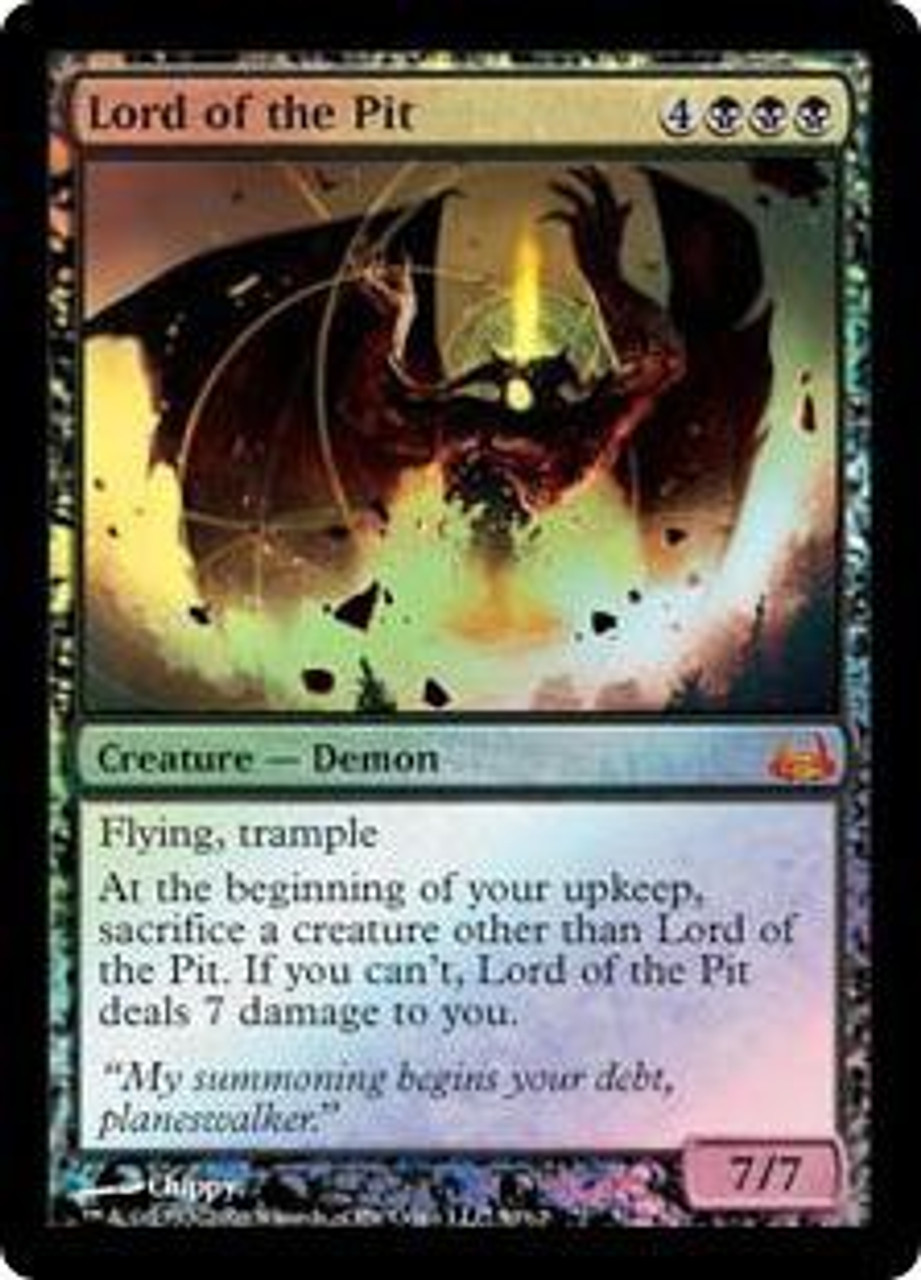 Magic: The Gathering, MTG) MTG ICONIC MASTERS Lord of the Pit kaartspellen