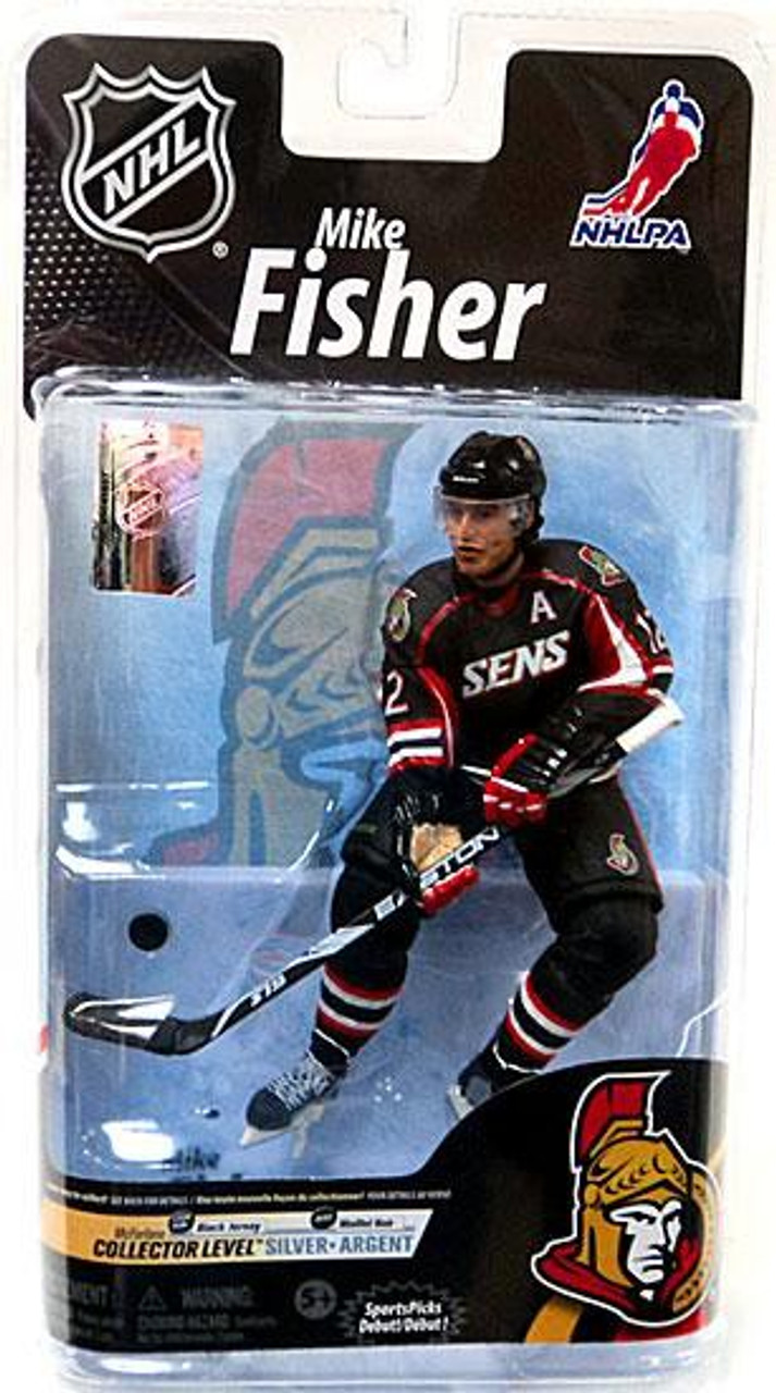 NHL Sports Picks Series 13 Dany Heatley Action Figure White Jersey Variant