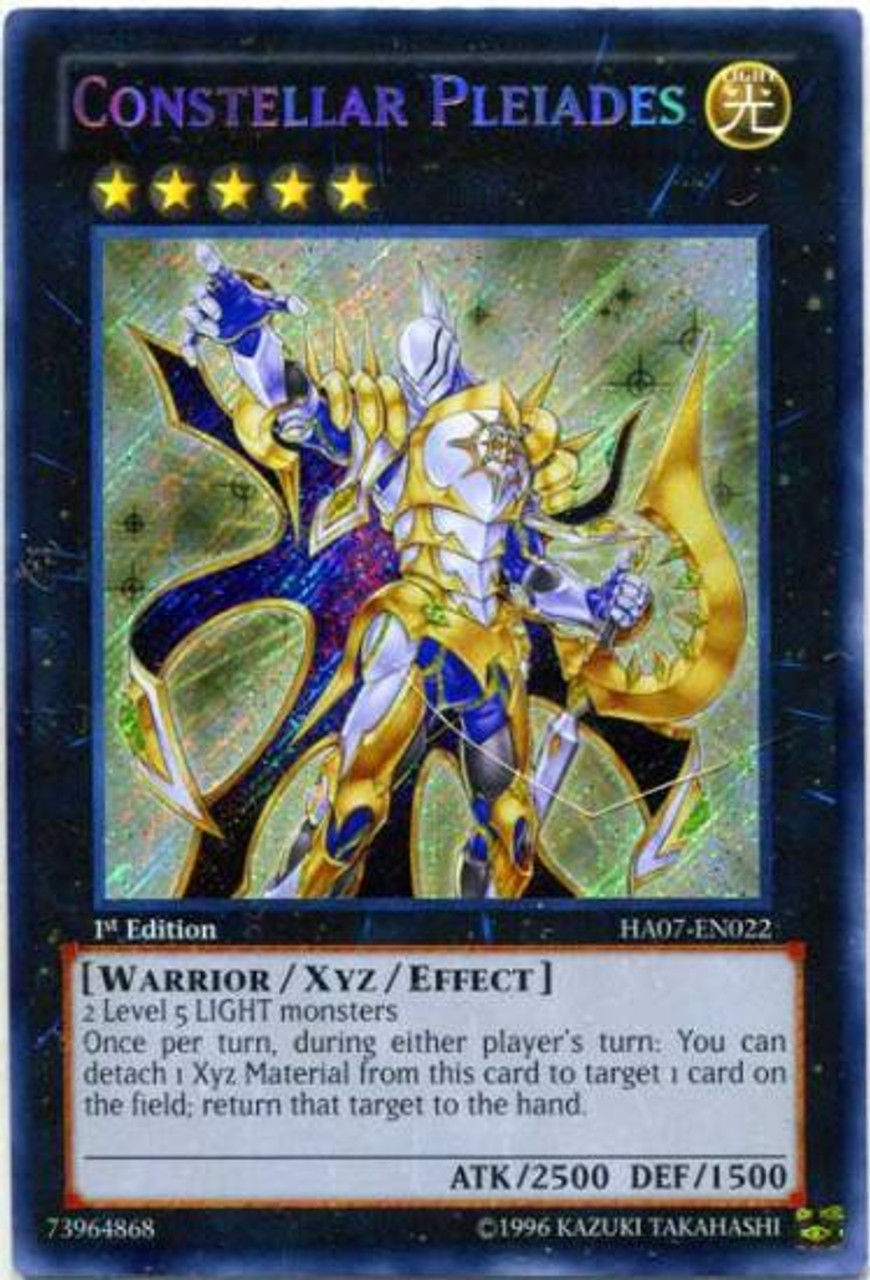 EDIZIONE Carta YU GI OH Stella caratteri-SIAT pleiaden ha07-de022 Secret Rare 1